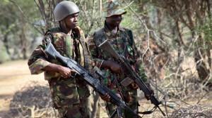 Kenyan-Troops