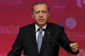 Turkey's President Tayyip Erdogan makes a speech during a graduation ceremony in Ankara, Turkey, June 11, 2015. REUTERS/Umit Bektas