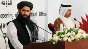 img-talibanafghanistannegotiatorsqatarofficepresser061813_131642130582