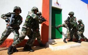 China-India_Counter-Terrorism_Drill_2008