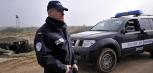 Frontex Police officers stay near the border with Turkey as they  deploy to help Greek border police to control the crossing of illegal immigrants to Greece and Europe on Thursday Nov. 4  2010 near Nea Vyssa, northeastern Greece, 480 kilometers east of Thessaloniki. Despite a general decrease recently in illegal immigration towards the EU as jobs become scarcer due to the global financial crisis, the numbers are staggering. Greece now accounts for 90 percent of the bloc's detected illegal border crossings, compared to 75 percent in 2009. The EU's border agency, Frontex, says Greek authorities reported 45,000 illegal border crossings in just the first half of this year.(AP/Photo Nikolas Giakoumidis)