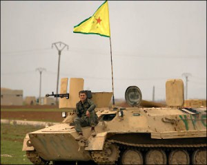 Kurdish-YPG-fighter-in-Tel-Hemis-in-syrian-kurdistan-photo-anf