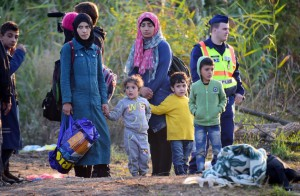 Syrian-refugees-Hungry