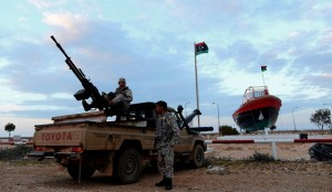 Libya Rebel Fighters Say They Seized 3rd Oil Port from Government