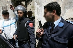 moroccan-police