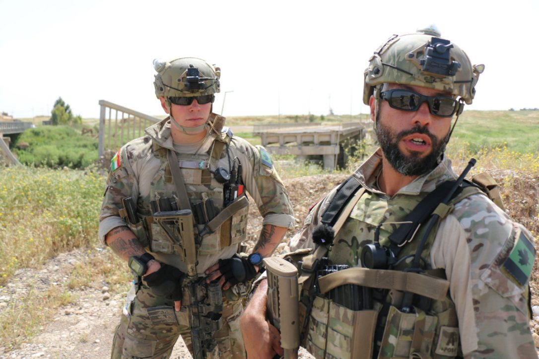 The Canadian Armed Forces Dispatch: Canada in Iraq: At war