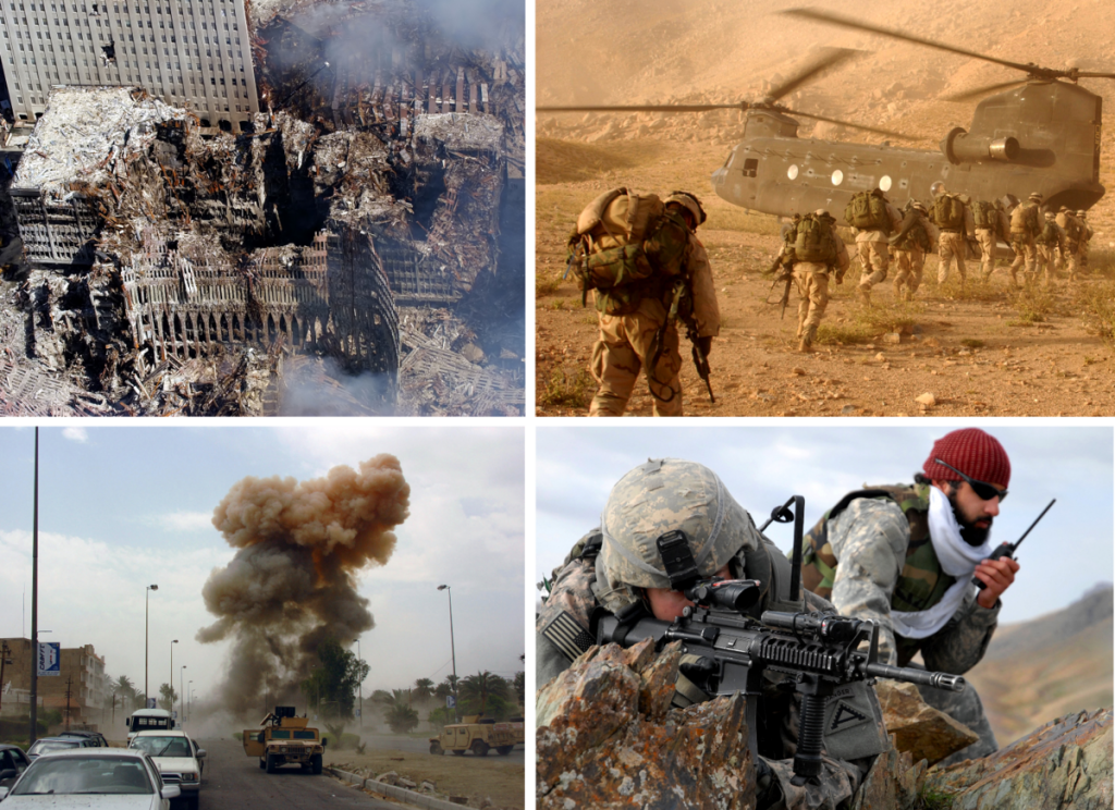 an act of war on terrorism